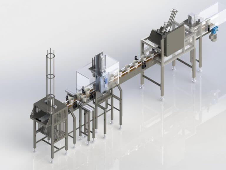 Acol - Powder Dispensing Line | Euroflow Engineering Ltd