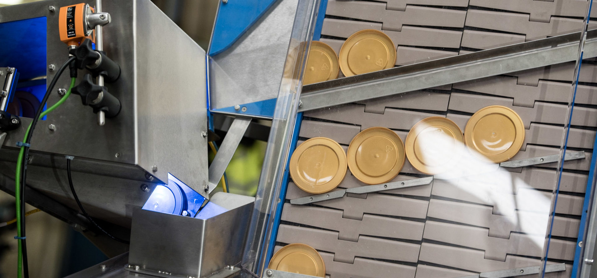 Lidding Sorting Solutions & Lid Capping | Euroflow Automation Ltd