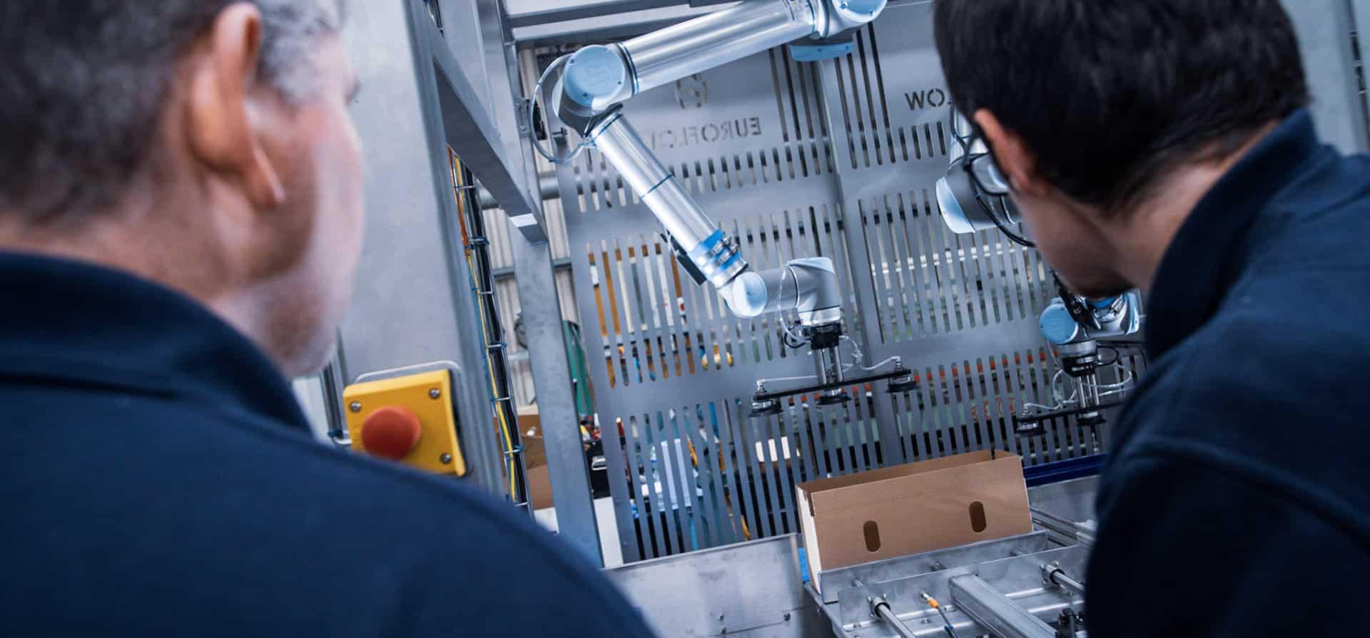 Collaborative Robots - Team Inspection | Euroflow Automation Ltd