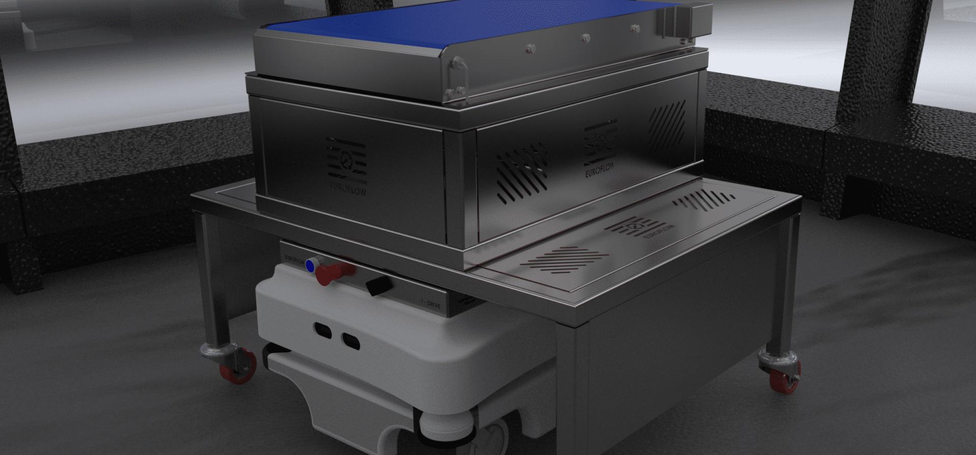 Mobile Industrial Robots Convey - Warehouse Automation | Euroflow Automation Ltd