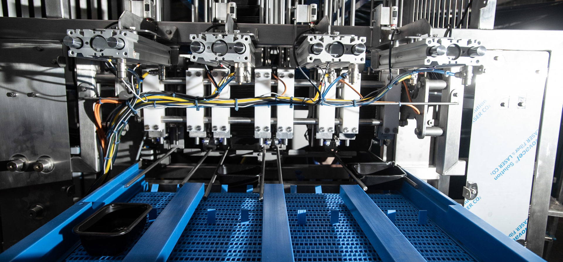 Food Packaging Denester | Euroflow Automation Ltd