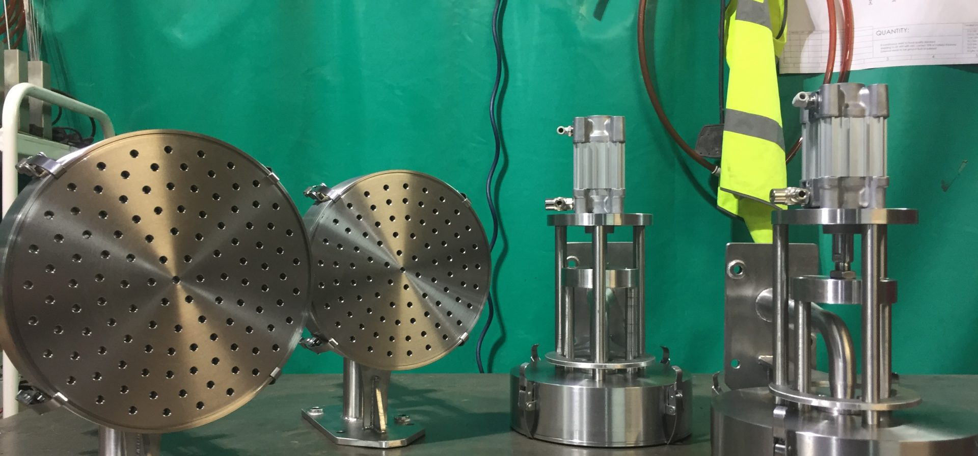 Custom Made Volumetric Depositing Heads   Euroflow Automation Ltd